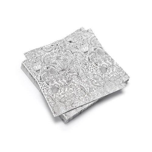 Serviettes de table en papier «Mandala»