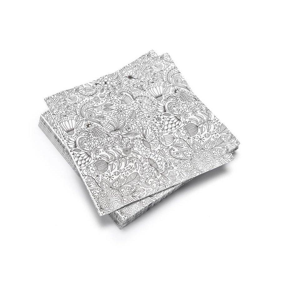 Serviettes de table en papier «Mandala» - Photo 0