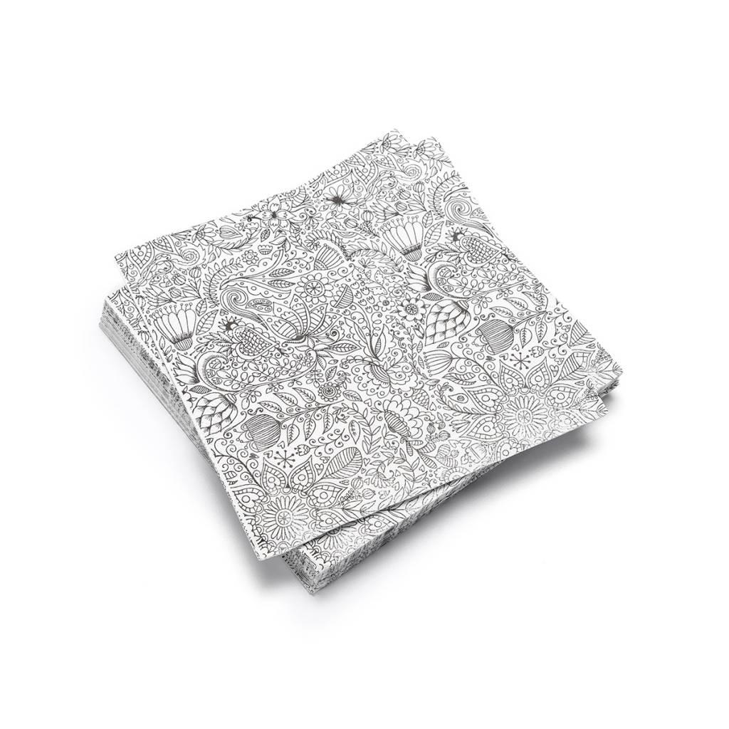 Mandala Paper Napkins Boutique Ricardo # Table De Jardin Ricardo