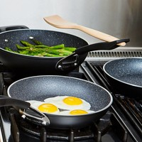 """The Rock"" 10-Piece Non-stick Aluminum Forged Cookware Set"