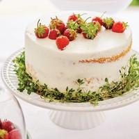 Assiette à gâteau sur pied «Tradition»