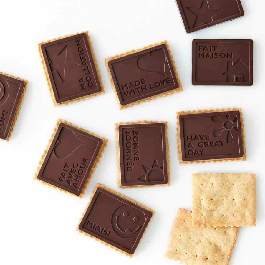 Emporte-pièce pour biscuits petits beurre et moules à chocolat - Photo 2
