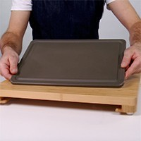 Bamboo Cutting Board and Integrated Antibacterial Board