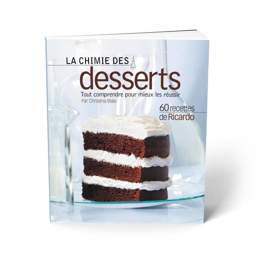 <i>La Chimie des desserts</i> Book (FrenchVersion) - Photo 0