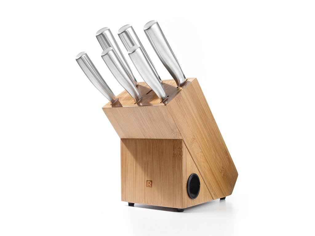 Ensemble de bloc et couteaux boutique ricardo - Ensemble couteaux de cuisine ...