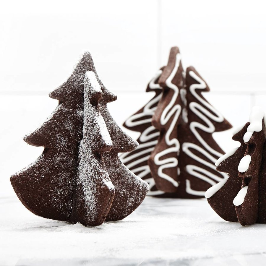 3D Christmas Tree Cookie Cutter Set - Photo 1