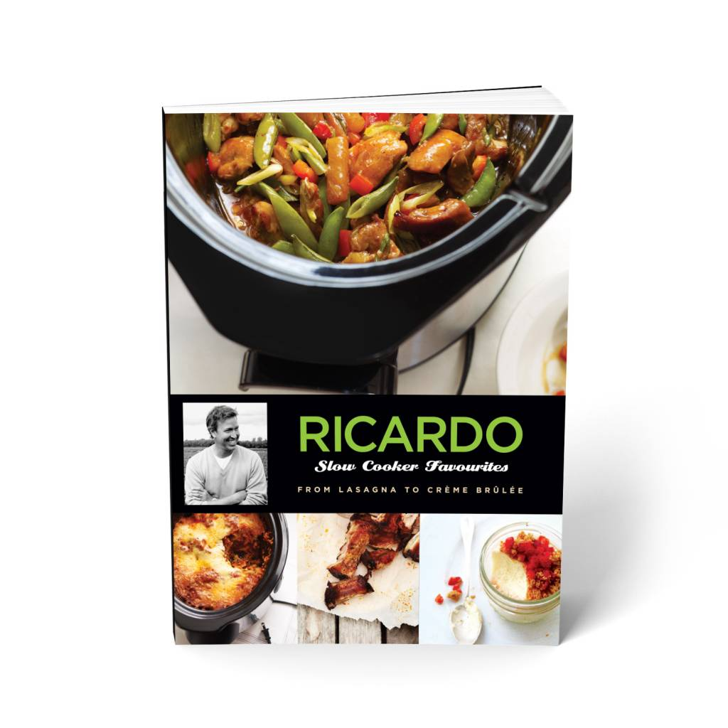 Slow cooker favourites version anglaise boutique ricardo for Tablier de cuisine ricardo
