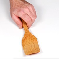 Spatule en bois d'érable