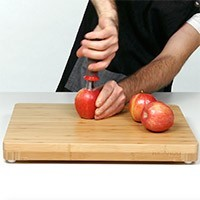 Apple Corer with Non-Slip Grip Handle