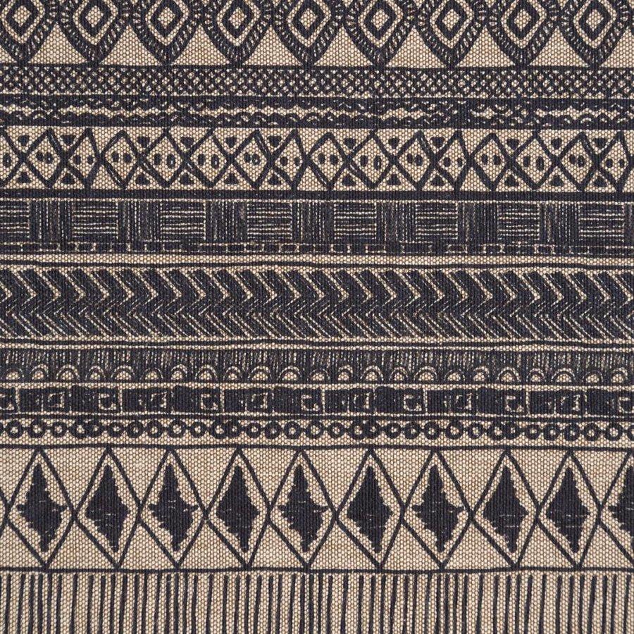 Chemin de table beige à motifs aztèques - Photo 1