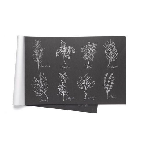 "Paper Placemats ""Fine herbs"""