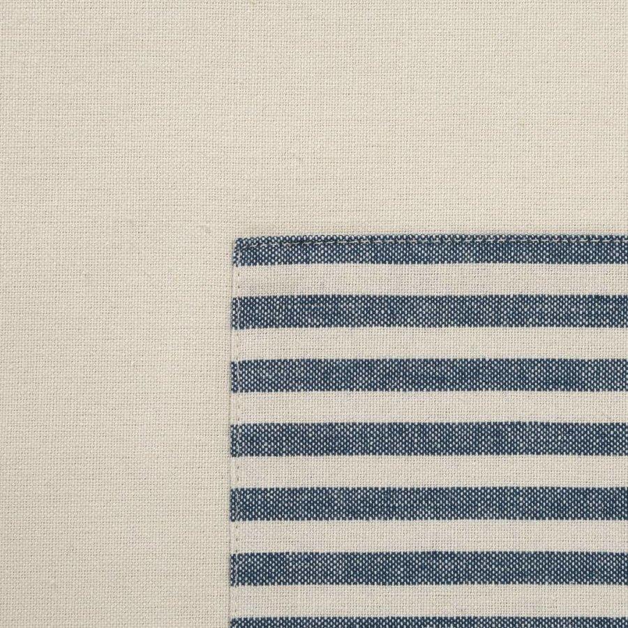 Blue Striped Chambray Half-Apron - Photo 2