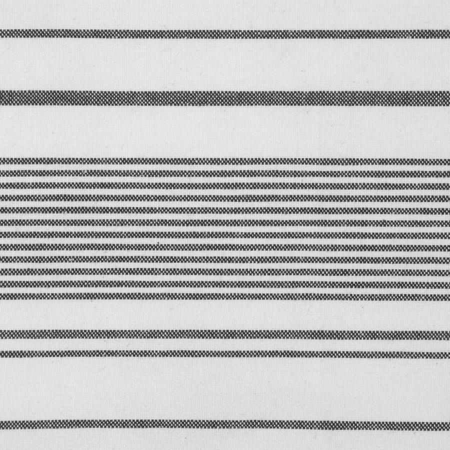 White Apron with Black Stripes - Photo 3