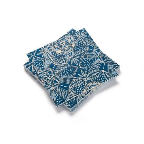 Mediterranean Ceramics Paper Napkins