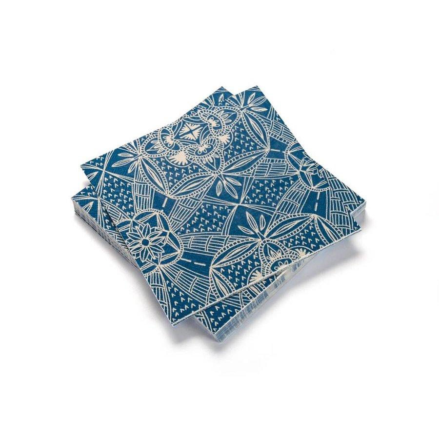 Serviettes de tables en papier «Céramiquesméditerranéennes» - Photo 0
