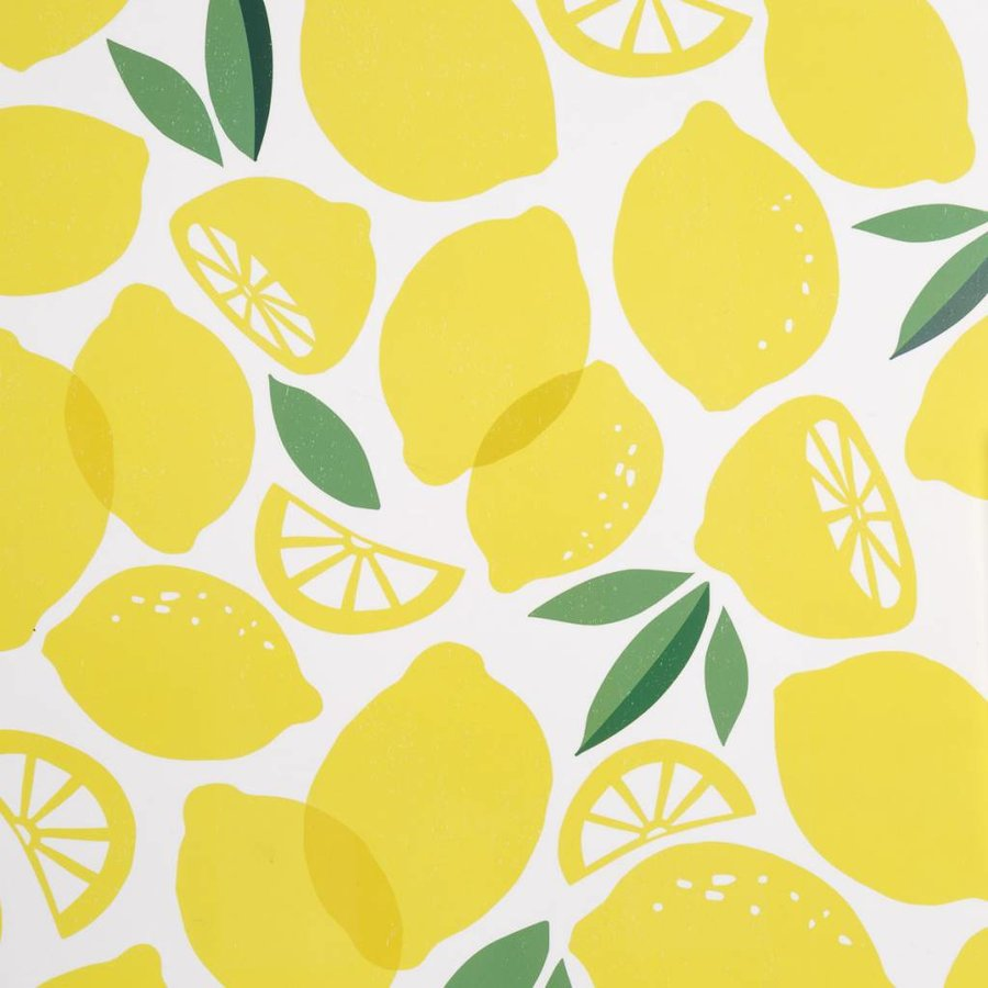 Placemat with Lemon Print - Photo 1