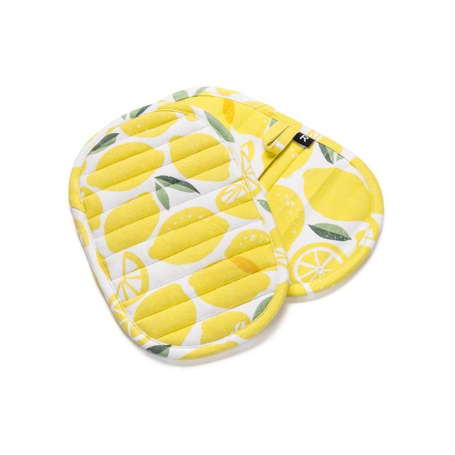 Sous-plats à motifs de citron - Photo 0