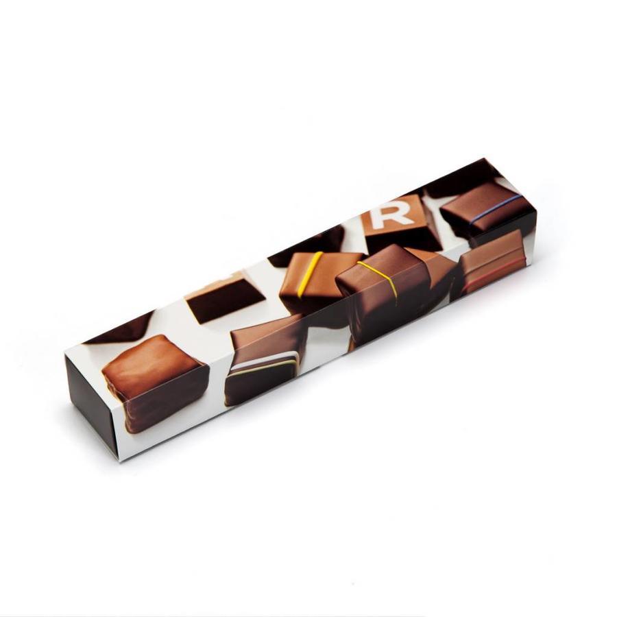 Boîte de chocolats assortis de 6 morceaux - Photo 0