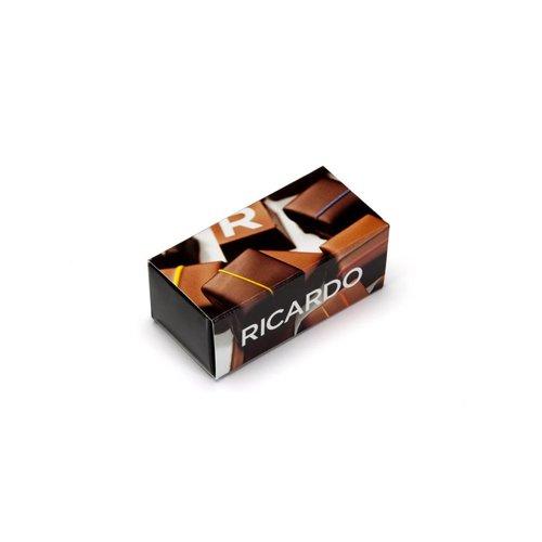 Boîte de chocolats assortis de 2 morceaux