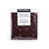 Grande barre de chocolat noir et quinoa soufflé caramélisé de 100 g