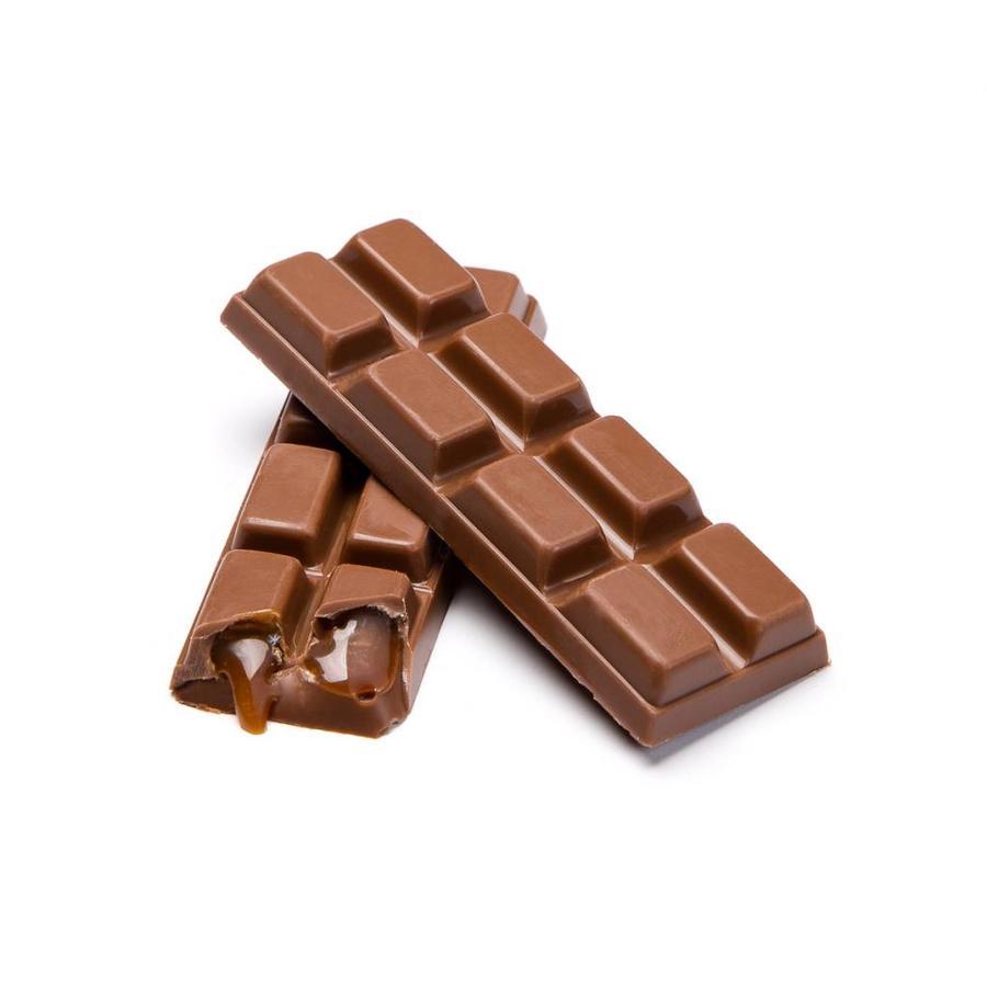 Barre de chocolat au lait et caramel de 52 g - Photo 0