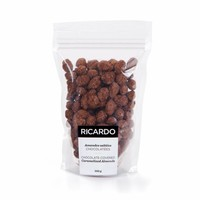 Chocolate-covered caramelized almonds, 250 g bag