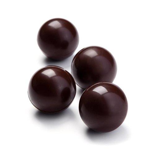 Chocolate marshmallow balls for hot chocolate