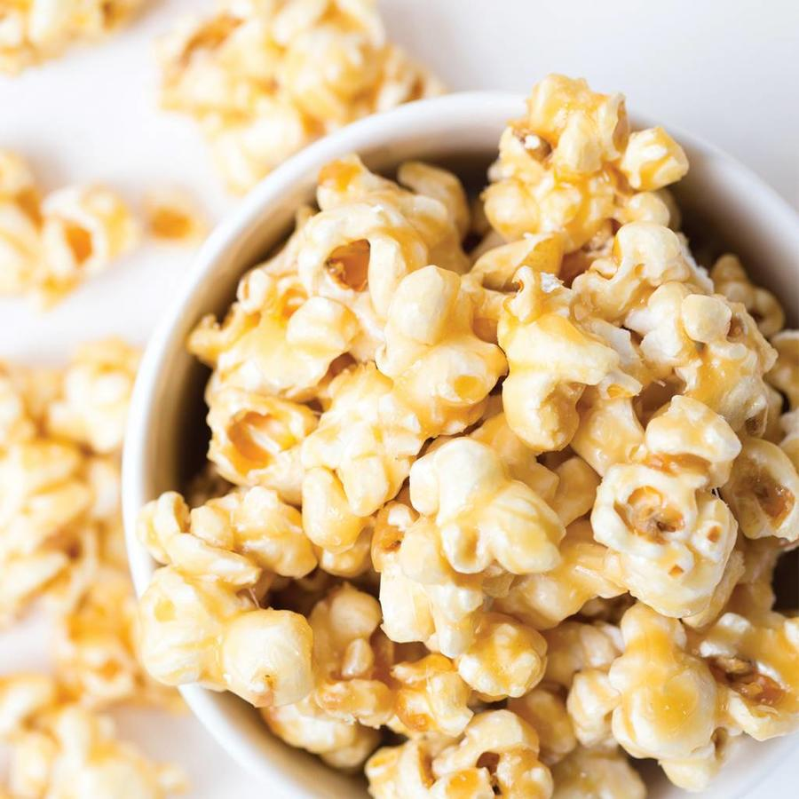 Butter caramel popcorn, 250 g bag - Photo 1