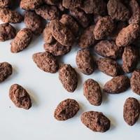 Petit sac d'amandes sablées chocolatées de 100 g