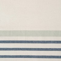 Blue Striped Chambray Table Runner