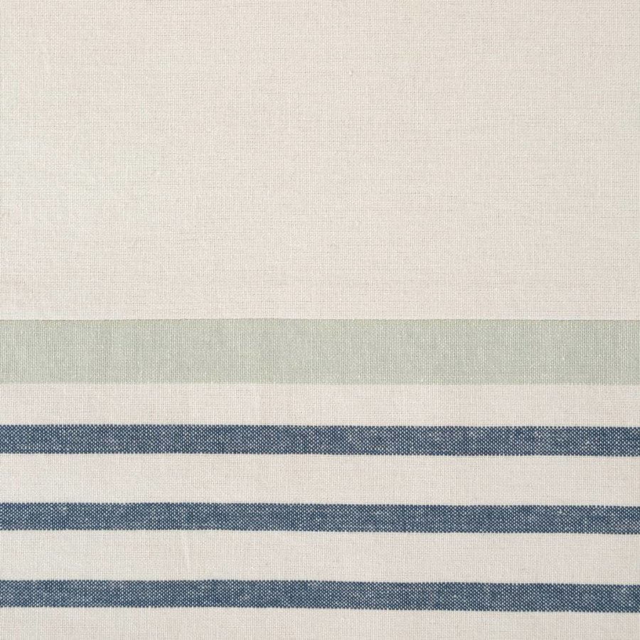 Blue Striped Chambray Table Runner - Photo 1