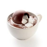 Chocolate marshmallow balls for hot chocolate (4)