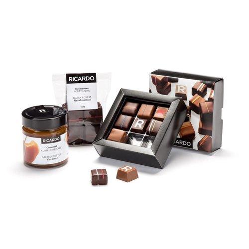 Chocolate-caramel collection