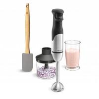 L'ensemble mélangeur à main et spatule
