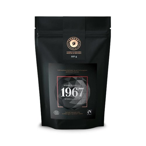 "Bag of Café Touché ""1967"" coffee"