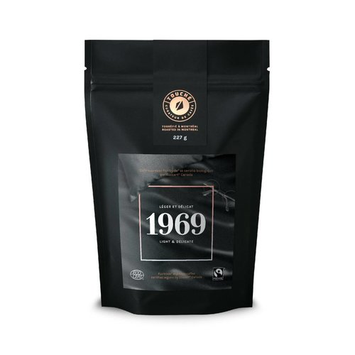 "Bag of Café Touché ""1969"" coffee"