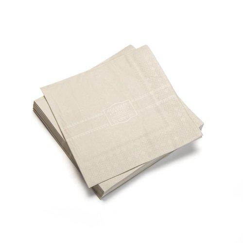 Serviettes de table en papier « Manger local »