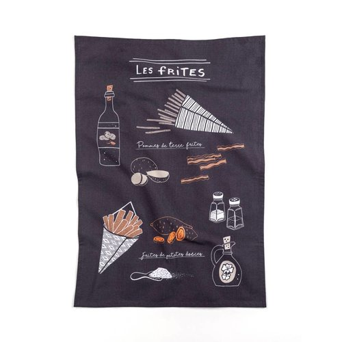Homemade French Fries Tea Towel