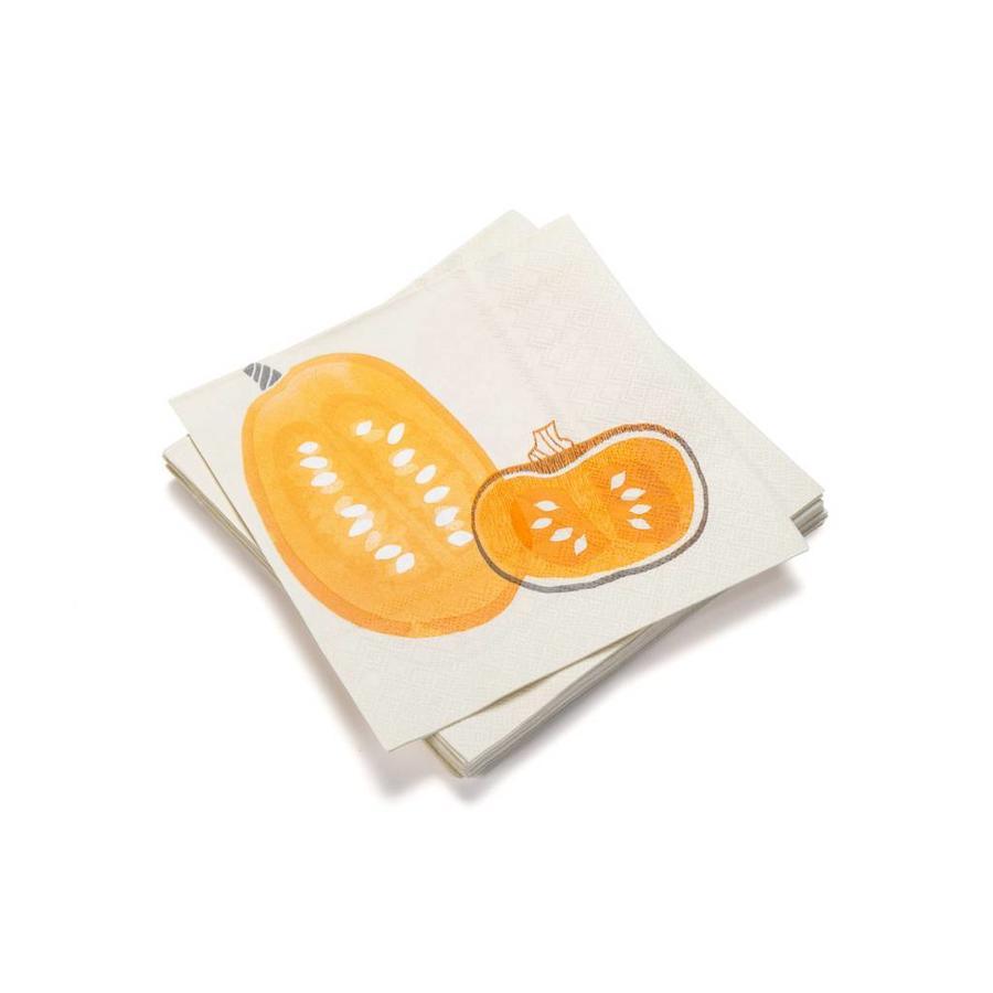 Serviettes de table en papier « Courges » - Photo 0