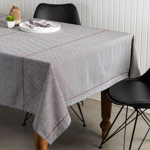 Diamond Herringbone Tablecloth