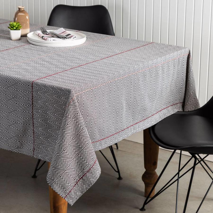 Diamond Herringbone Tablecloth - Photo 0