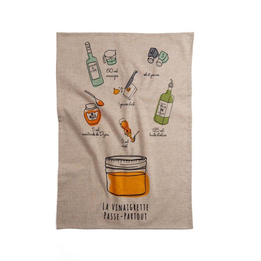 All-purpose Vinaigrette Tea Towel - Photo 0