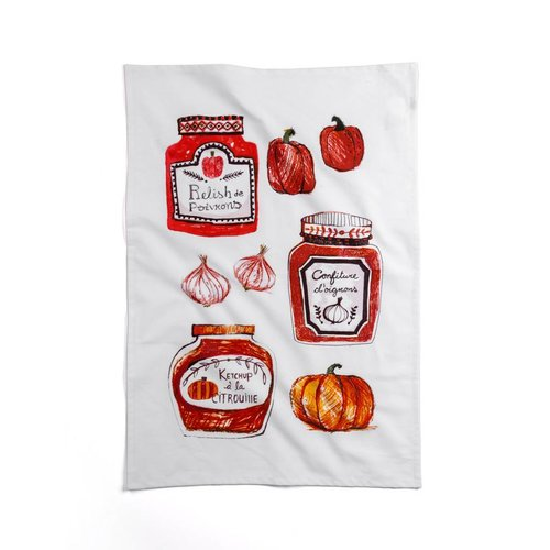 Homemade Preserves Tea Towel