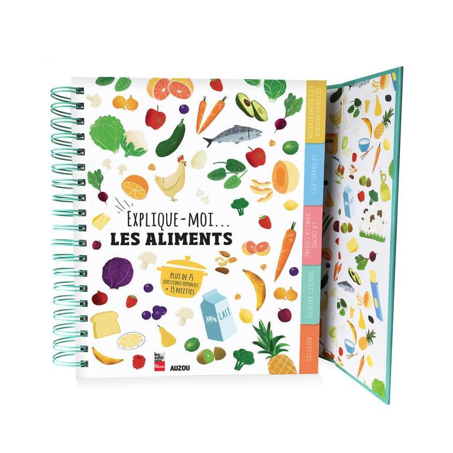 """""""Explique-moi les aliments"""" Book (French Version) - Photo 1"""