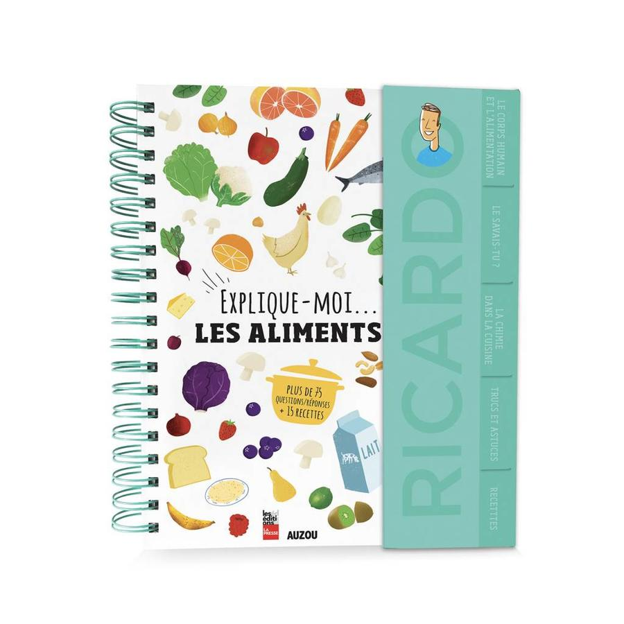 <i>Explique-moi les aliments</i> Book (French Version) - Photo 0