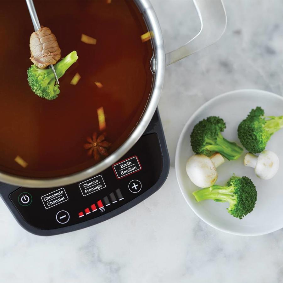 Ensemble à fondue électrique RICARDO (11 pièces) - Photo 2