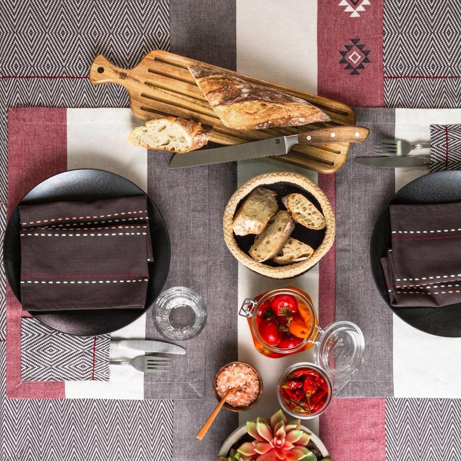 Diamond Herringbone Tablecloth - Photo 2