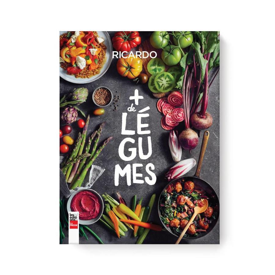Livre Plus de légumes - Boutique RICARDO