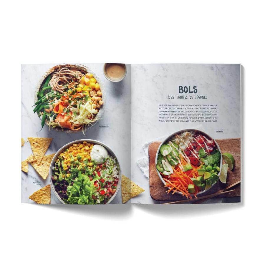 Combo livre <i>Plus de légumes</i> et sac à emplettes - Photo 5