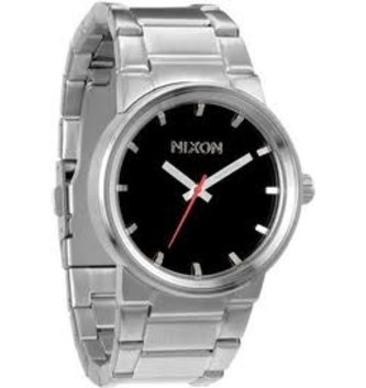 NIXON WATCHES CANNON: BLACK